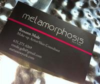 MetaNewYork.com Logo & Business Card Design