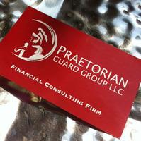 Praetorian Guard Group LLC Business Card & Logo Design