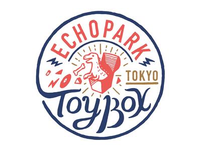 ECHOPARK TOY BOX TOKYO toy logo tokyo