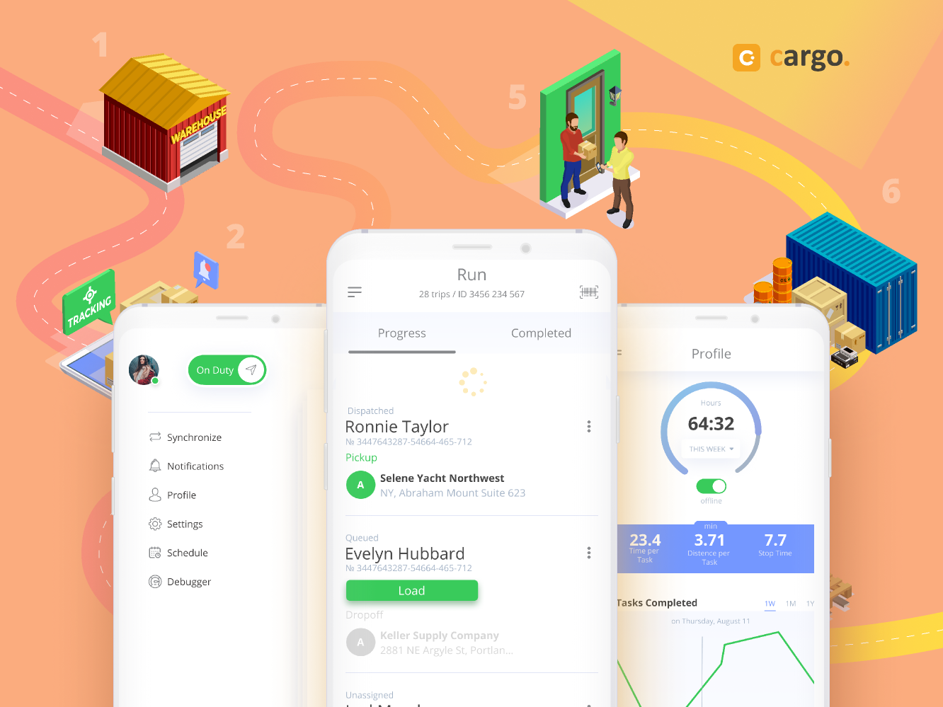 What are you working in Figma now? logistics app ios mobile elements dashboard design ux ui
