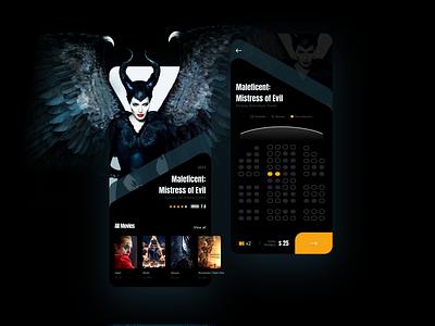 Cinema Ticket App maleficent movie tickets cinema booking