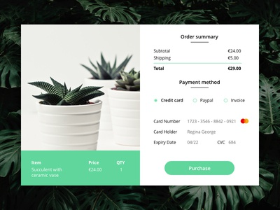 Checkout - Daily UI #002