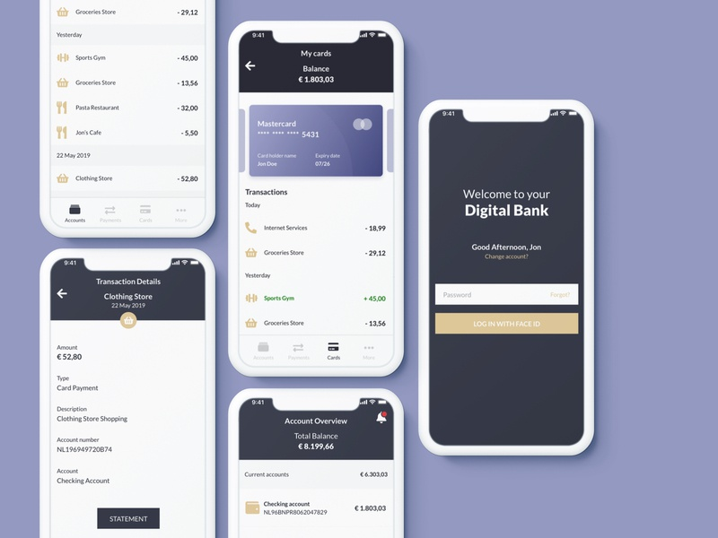 Digital Bank App