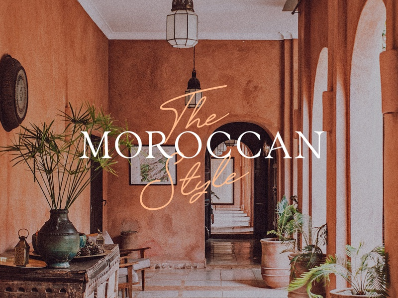 The Moroccan Style editorial design font collection font bundle display font font lettering typography design