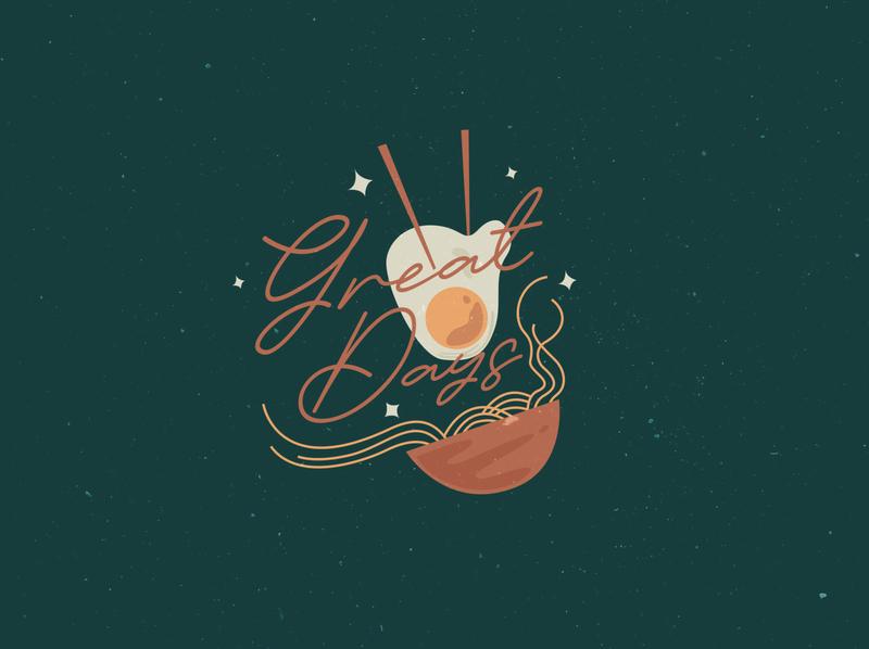 Great Days! logo design logo vector font collection illustration font bundle font display font branding lettering typography design