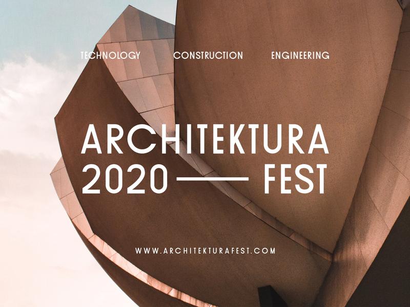Architektura Fest mobile graphic design ux ui typography editorial design display font font font collection