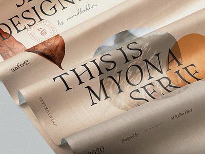 Myona Serif wedding invitation uiux font collection brand editorial design font bundle display font font typography lettering branding design