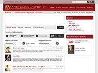 College Social Network UI and UX Design, Front-end Dev.