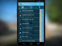 Neighborhood Connecting Android App UX and UI Design