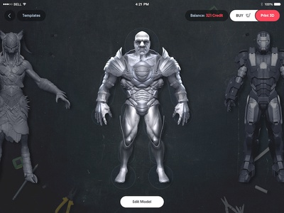 Action Figure Builder for printing