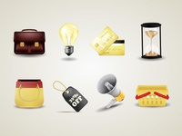Store Business Icons