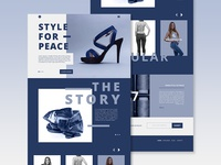 Style For Peace Web Design