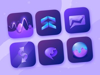 Business App Icon Concepts