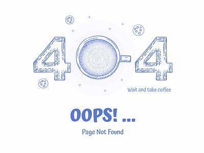 Free 404 Error Page Design Vector Illustration Download website design typography vector error page illustration download freebie 404