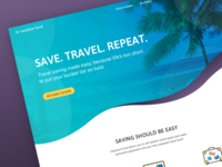 Vacation Fund - Landing Page
