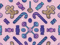 Sweet Dreams - Wrapping Paper Pattern