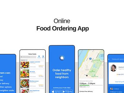 Food Ordering App gangbeetle restaurant app ordering food app colors ios user experience ui user interface design