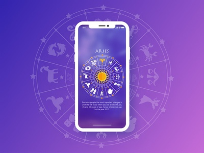 Astrology App Concept