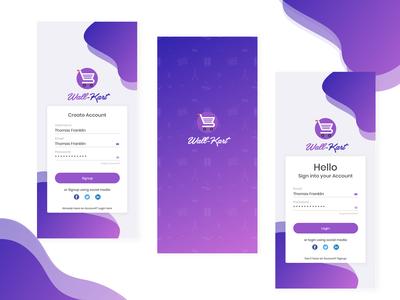 Daily UI #001 - Shopping Kart