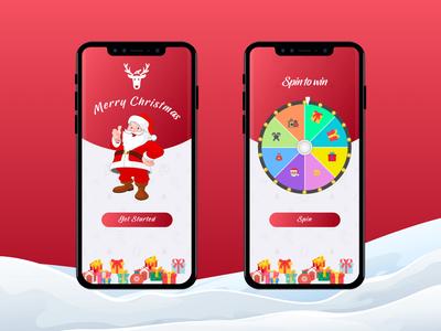 Daily UI #002 - Christmas Theme
