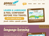 Games for Language Web
