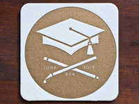 Graduation announcement Coasters