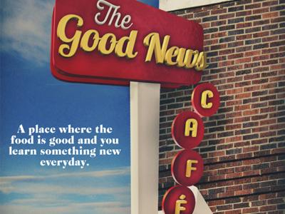 Good News Café Poster