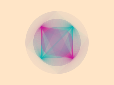 Geometric Shapes / 160325 code creative coding geometry generative art processing