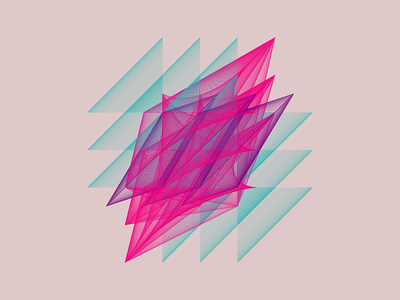 Geometric Shapes / 160327 code creative coding geometry generative art processing
