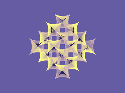 Geometric Shapes / 160331 code creative coding geometry generative art processing