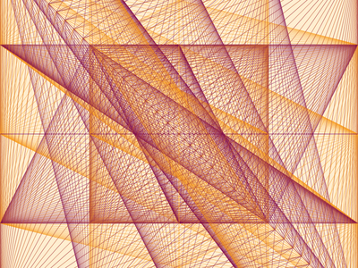 Geometric Shapes / 160402 art generative art code creative coding processing