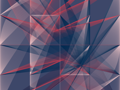 Geometric Shapes / 160404 art generative art code creative coding processing