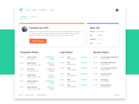 Cooin | Account Overview Page
