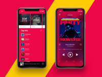 Music Player | Daily Ui  009