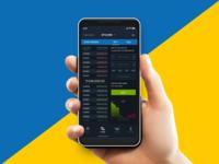 Crypto App_Trade Ui mockup