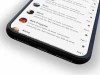 Swipe to Edit Email Client Experience