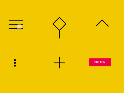 Icons Interaction Animation #Freebies xd guru freebie xd interaction animation icon design button cta add popup arrow search menu xd auto animate animation icon