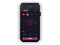 Crypto Wallet Chart Experience Mobile App
