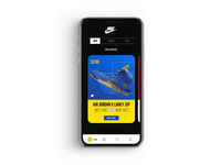 Sport Shoes App Parallax Animation