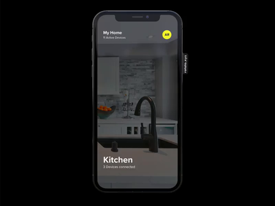 AR based Smart Home Power Usage App