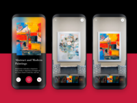 AR based Art Gallery Frame App