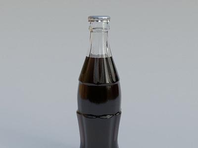 Coca-cola 3d cinema4d