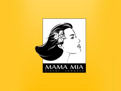 Mama Mia Logo logo