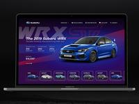 Subaru website