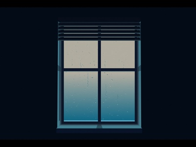 Another rainy day after effects motion graphics illustration design light night window rainy adobe aftereffects adobe illustrator 3d 2d animation