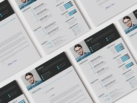 Modern Resume CV (freebie)