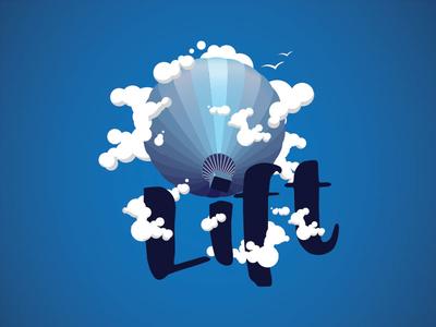 Lift logo balloon dailylogochallenge