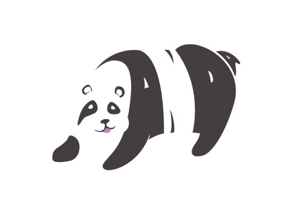 Panda Logo | Day 3 panda dailylogochallenge day3
