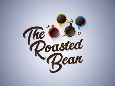 The Roasted Bean cafe coffee dailylogochallenge