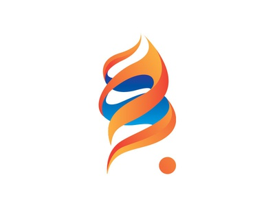 FlameTwist Logo logo flame dailylogo dailylogochallenge